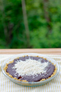 Chocolate Truffle Pie- All the flavor of chocolate truffles, with much less effort!