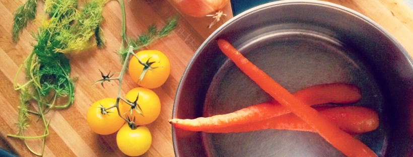 Homemade Vegetable Stock - For the best flavor, make your own stock!