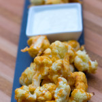Easy vegan-friendly Buffalo Cauliflower Wings- The perfect healthy game-day snack!