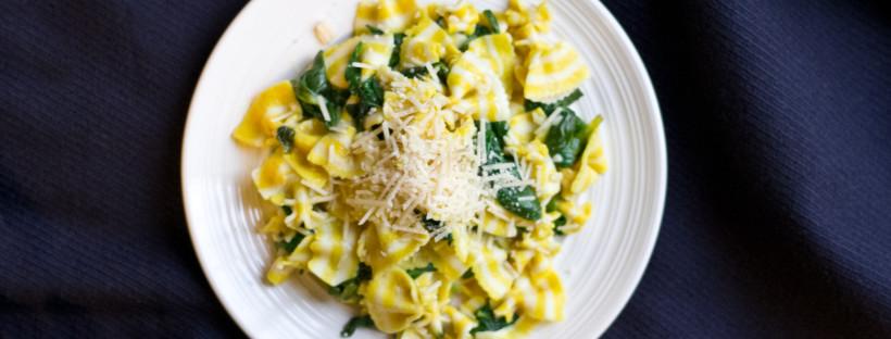 Lemon Spinach Pasta