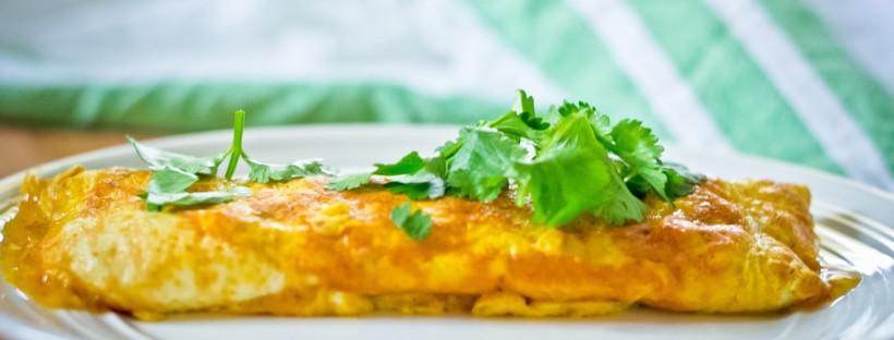 Masala Spiced Omelette