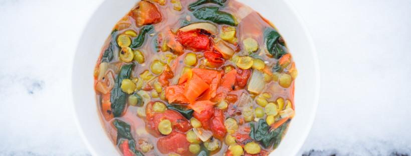 Split Green Pea Curry