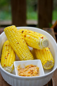 Chili Butter Corn on the Cob