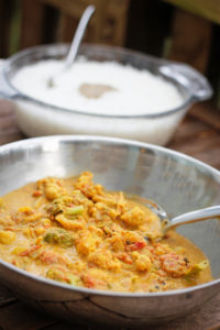 Easy Vegetable Korma- Simple Directions with Easy to Find Ingredients