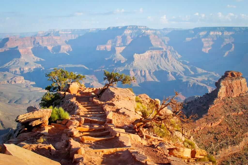Full Hikers are Happy Hikers- Hiking the South Kaibab Trail at the Grand Canyon