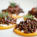 Beluga Lentils Caviar