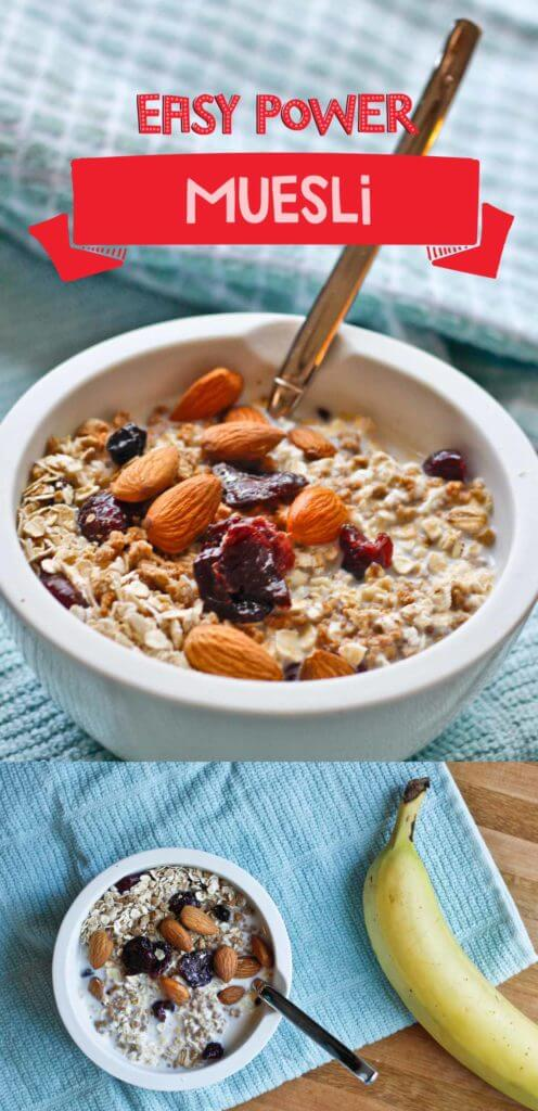 Easy Power Muesli- Vegan and Ready in Minutes!
