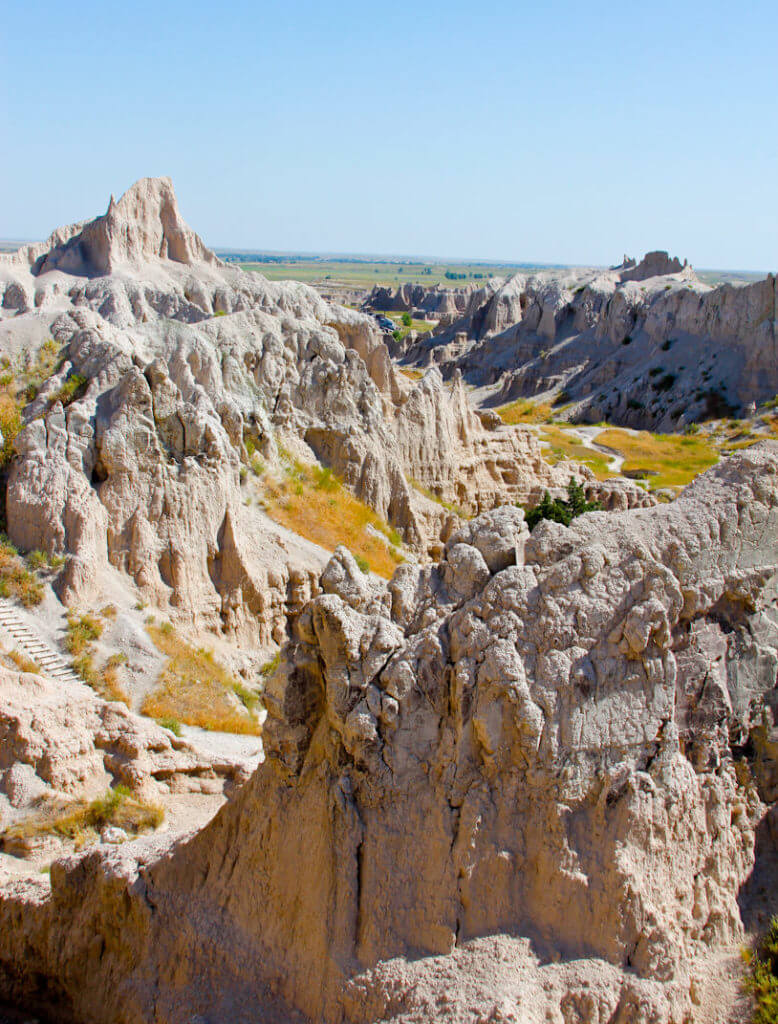Full Hikers are Happy Hikers- The Badlands