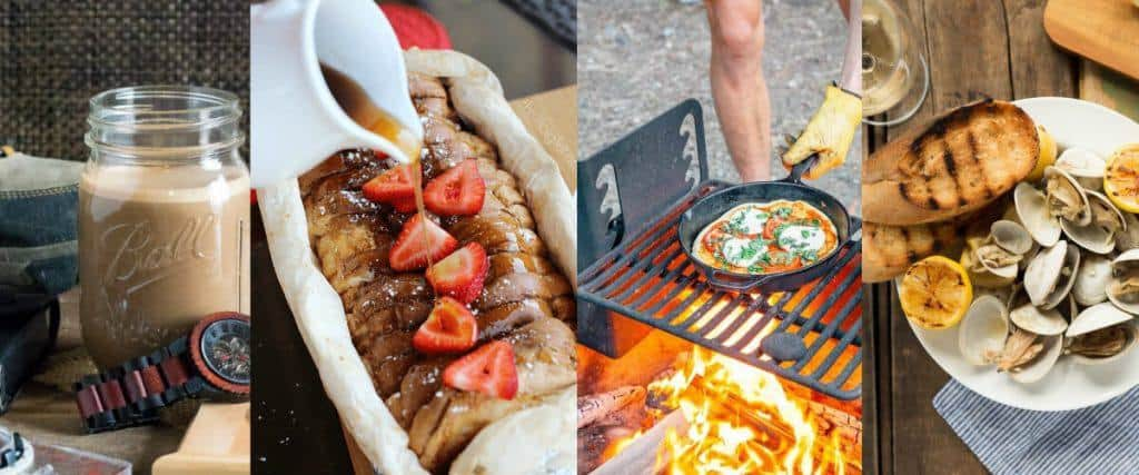 Camping Recipe Ideas for Glamping (Glamour Camping), Plus Campground Cooking Tips + Ideas