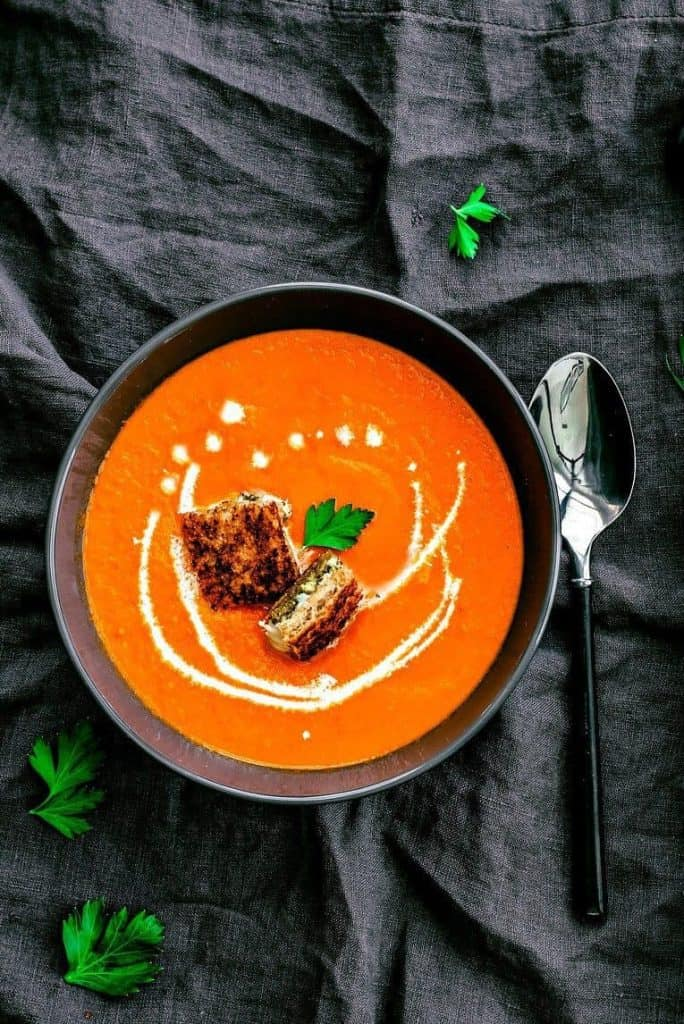 Classic Tomato Soup - from Killing Thyme