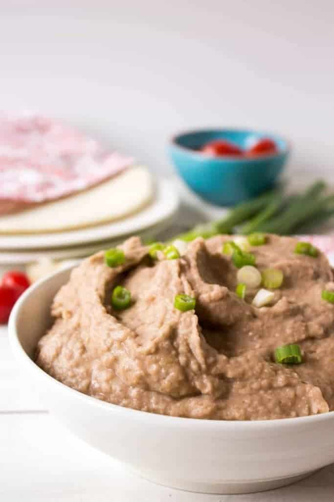 Crock Pot Refried Beans - from Beyond the Chicken Coop
