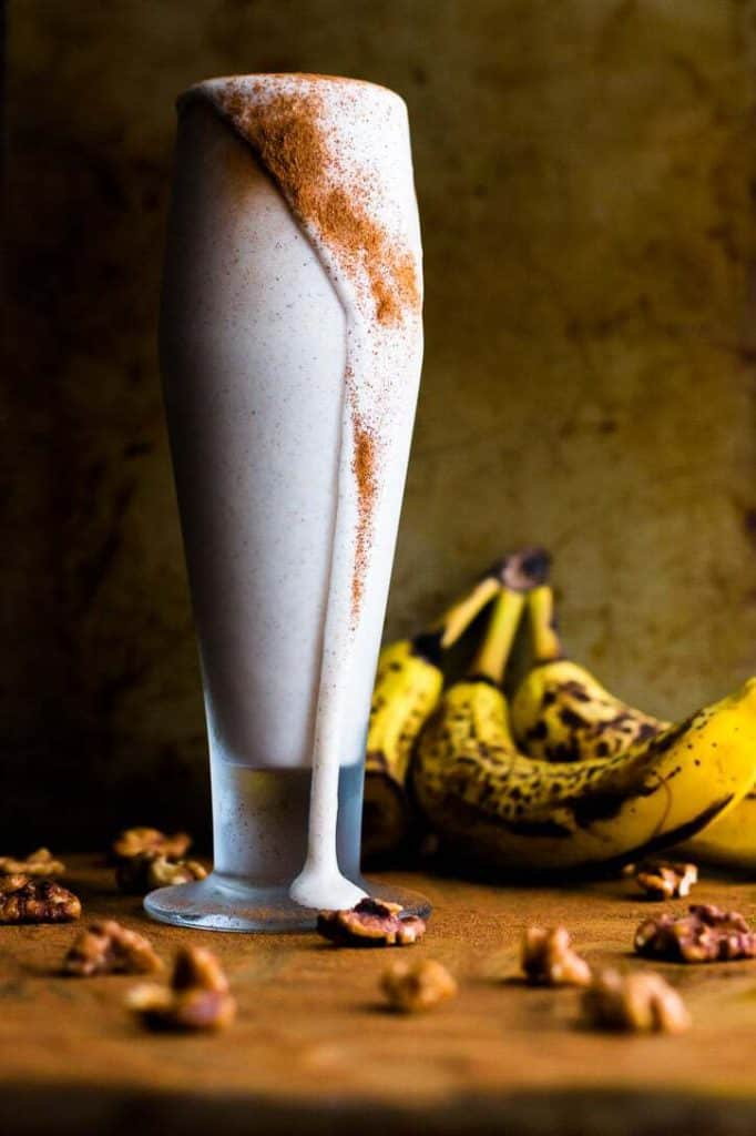 Banana Bread Protein Shake - from Meg is Well
