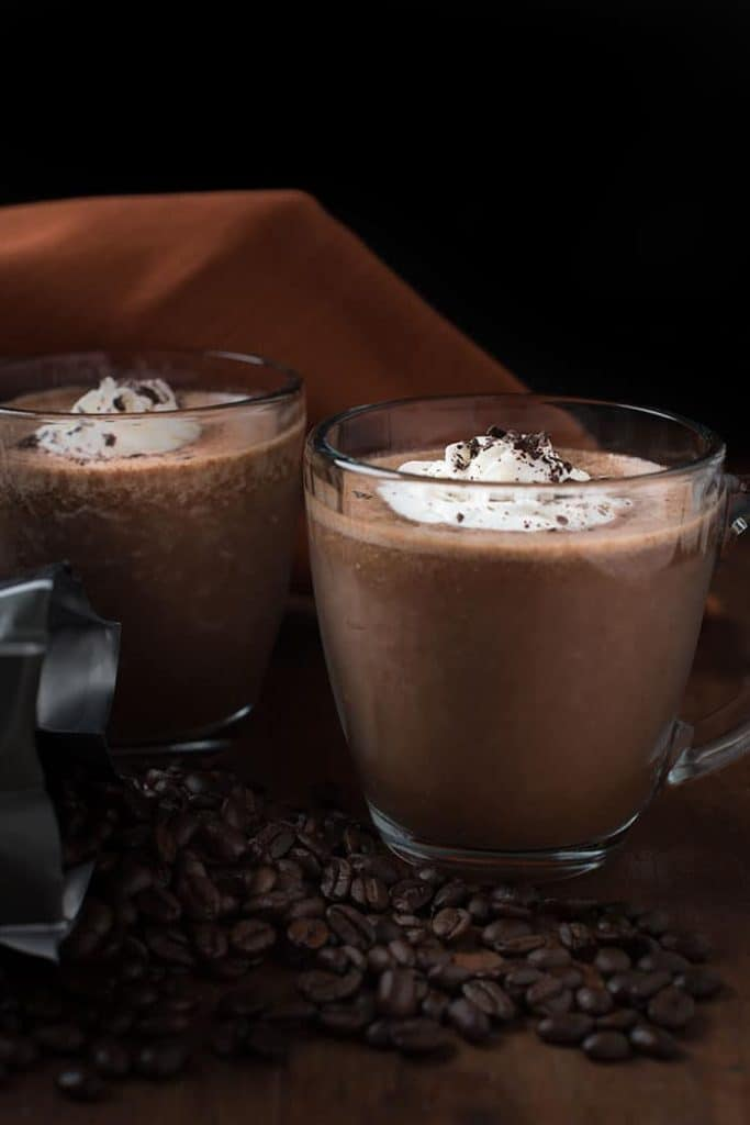 Banana Coffee Cacao Smoothie - from My Wife Can Cook
