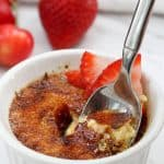 This Breakfast Crème Brûlée is a lighter take on the classic dessert, and is a creamy, custardy solution to all your breakfast needs and wants.