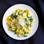 Lemon Spinach Pasta