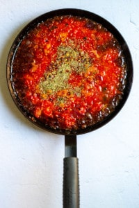 Add Tomatoes + Herbs
