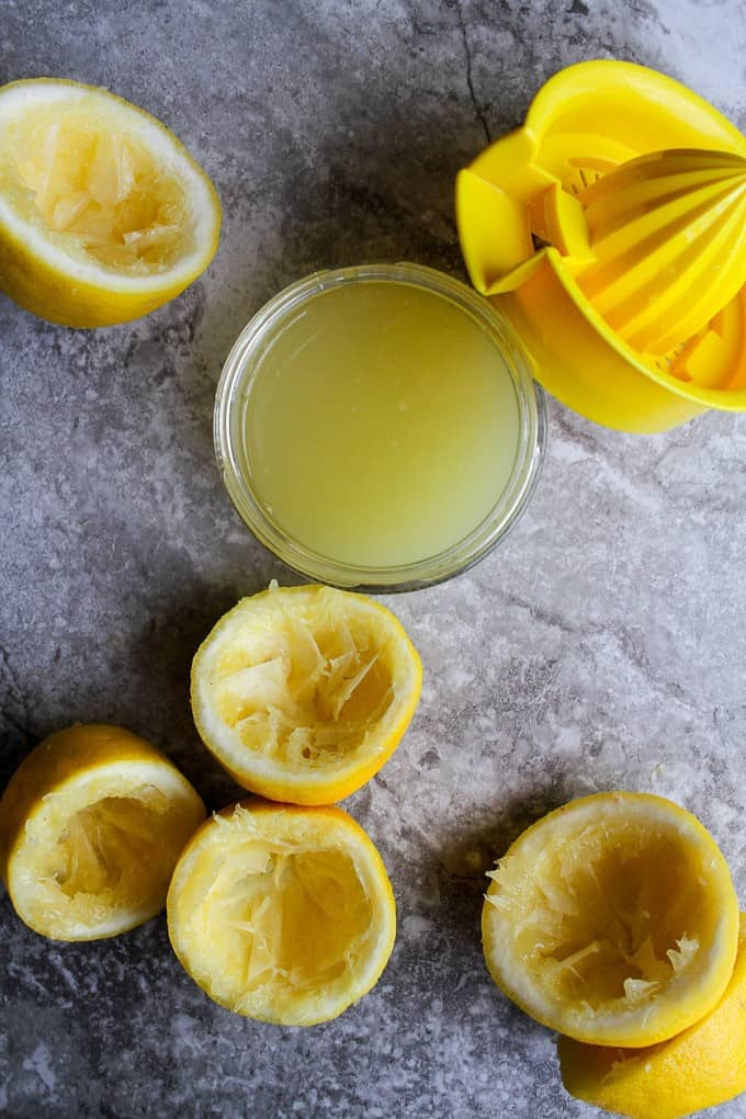 lemons after squeezing