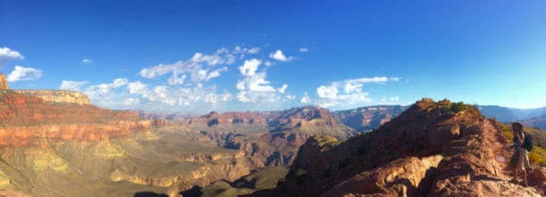 Hiking the South Kaibab Trail at the Grand Canyon