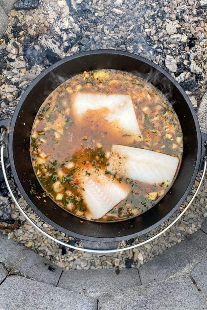 Add Fish to The Stew