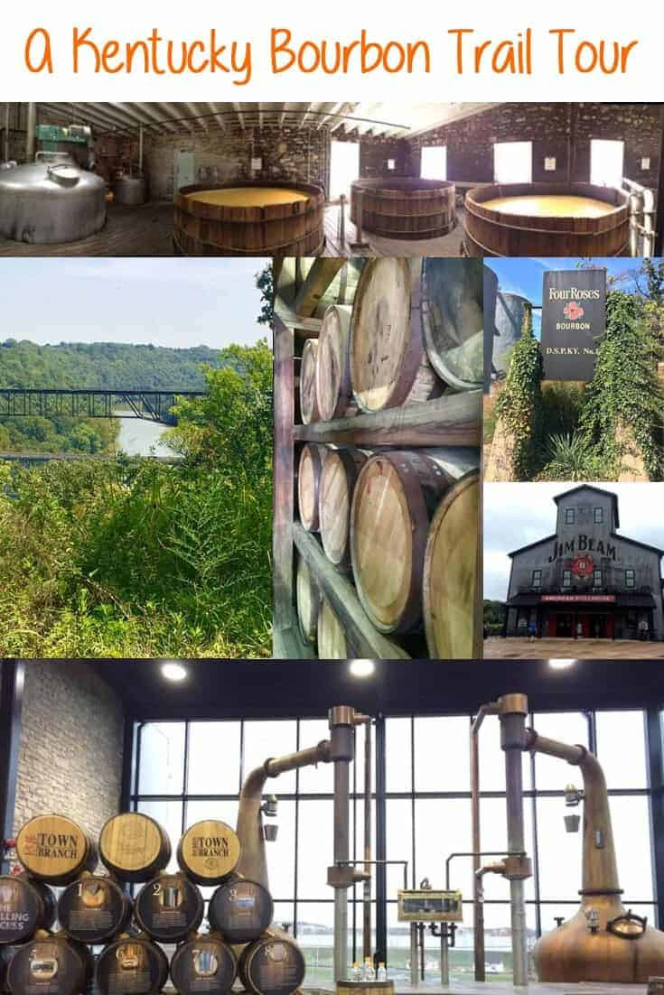 A Kentucky Bourbon Trail Tour!  The bourbon trail is easy to navigate, and with a little planning, can be a fantastic getaway both for bourbon lovers and those who simply want to sightsee! #Kentucky #SightSeeing #Bourbon #BourbonTrail