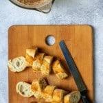 Slice Crusty Bread