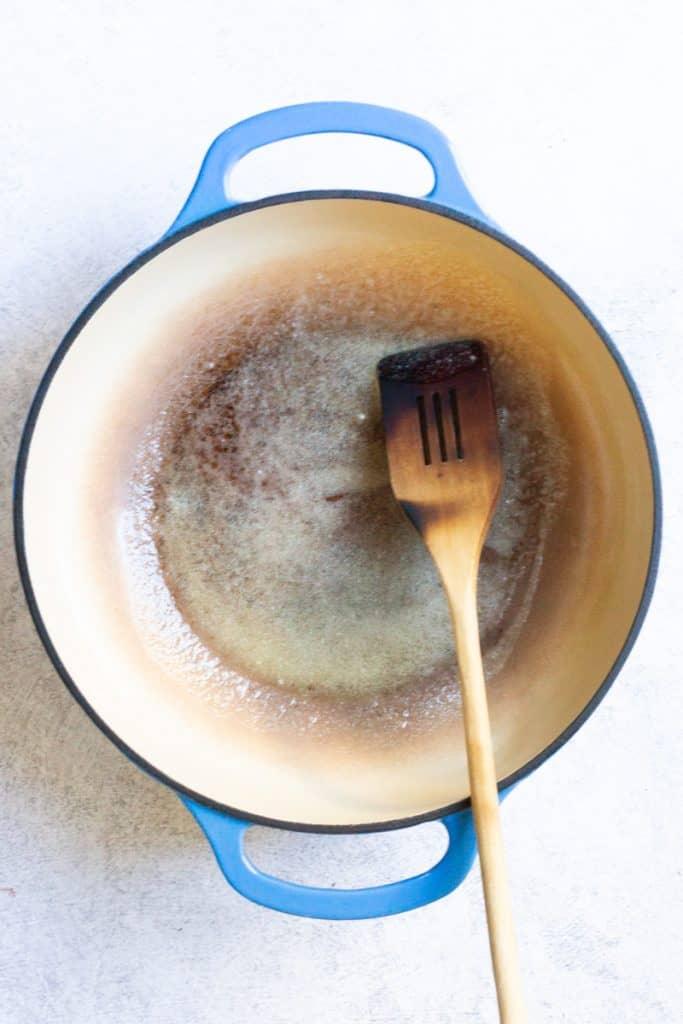Stir Flour Into Melted Butter