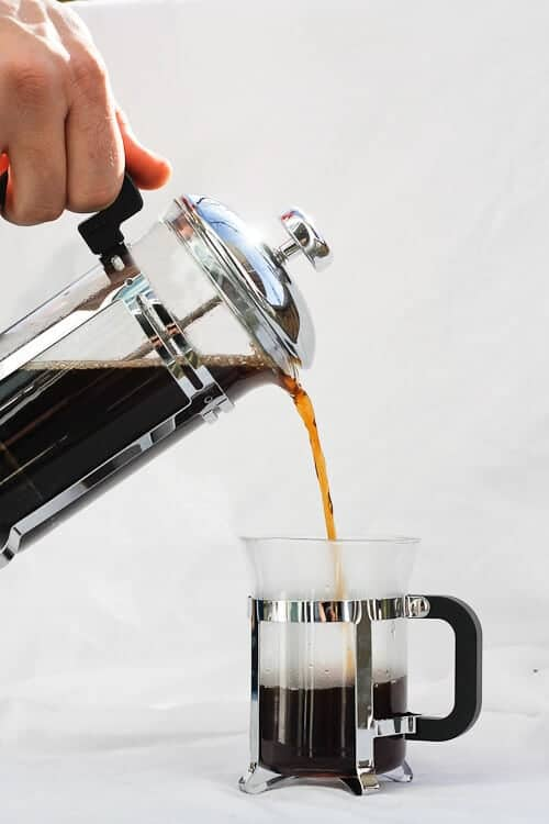 Vanilla French Press Coffee