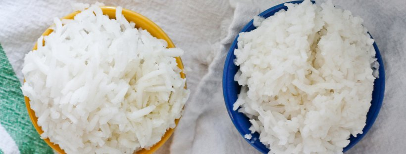 Love rice? Today's 'Cooking 101' post- How to Cook Basmati Rice in the Microwave!