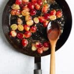 Sear Grapes Until Blistered