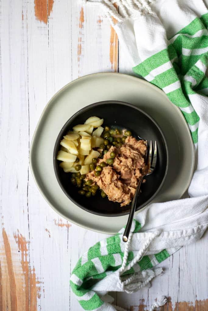 Add Tuna, Capers + Watercress