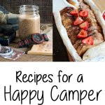 Glamping Recipes for the Happy Camper - These delicious recipes will help you camp with style, and eat well while you're enjoying nature! champagne-tastes.com