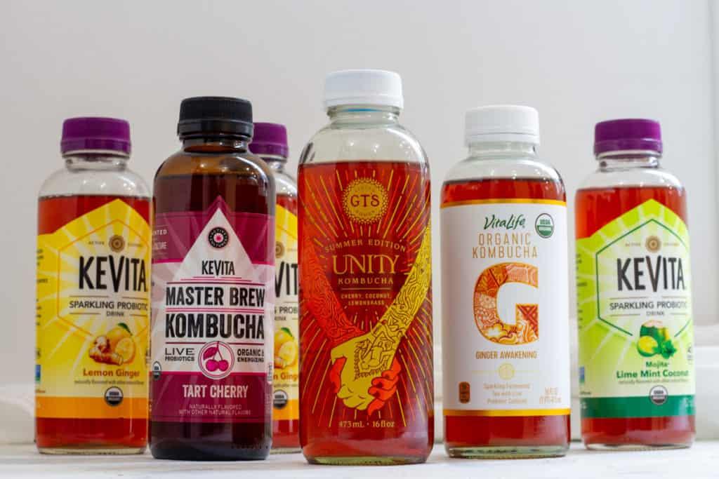 Reusing Store-bought Kombucha + Water Kefir Bottles
