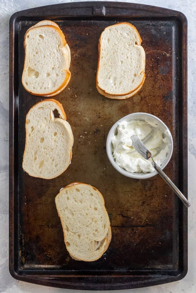 Make the French Toast Sandwiches