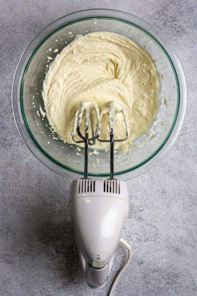 Mix Together Cheeses, Yogurt, Lemon Zest + Juice