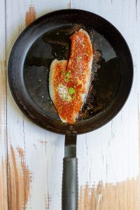 Season Fish with Spices + Zest