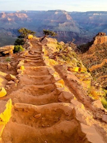 Hiking the South Kaibab Trail
