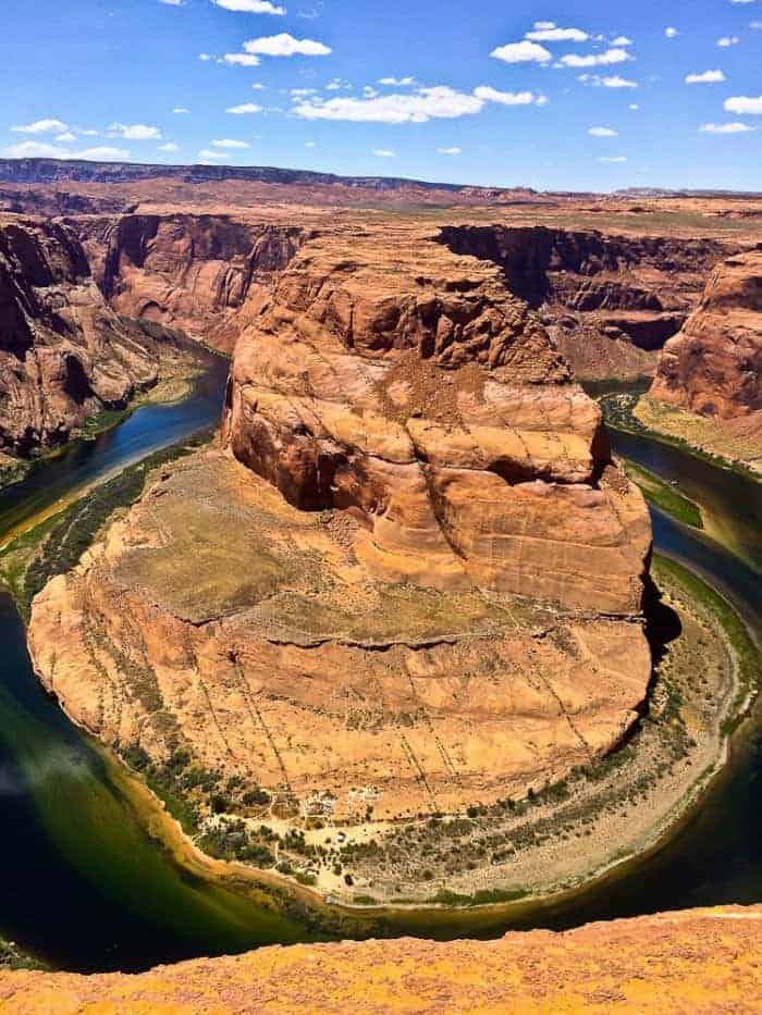 Stopping at Scenic Overlooks- Horseshoe Bend in Arizona