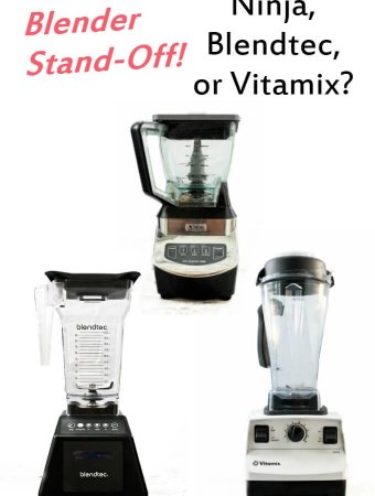 Blender Stand-off: Ninja® vs Blendtec® vs Vitamix®