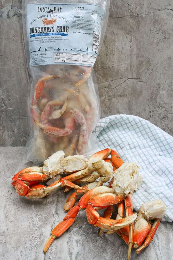 how to eat dungeness crab legs