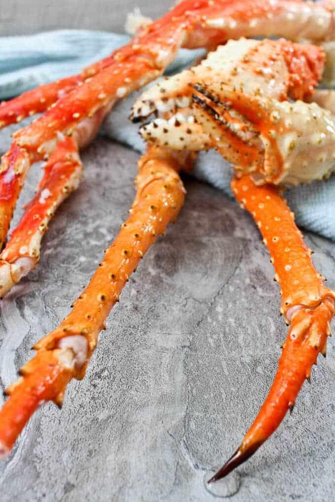 Golden King Crab Legs + Red King Crab Legs