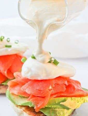 Healthy Brunch: Smoked Salmon Eggs Benedict