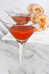 This Classic Shrimp Cocktail is ready in ten minutes, and is an easy appetizer for dinner or parties.