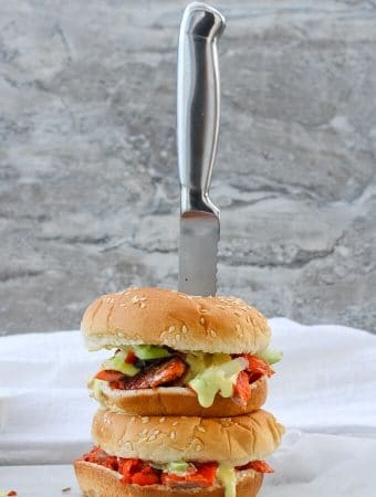Slow-Roasted Salmon Sandwiches