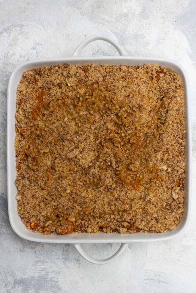 Top with Pecan Streusel