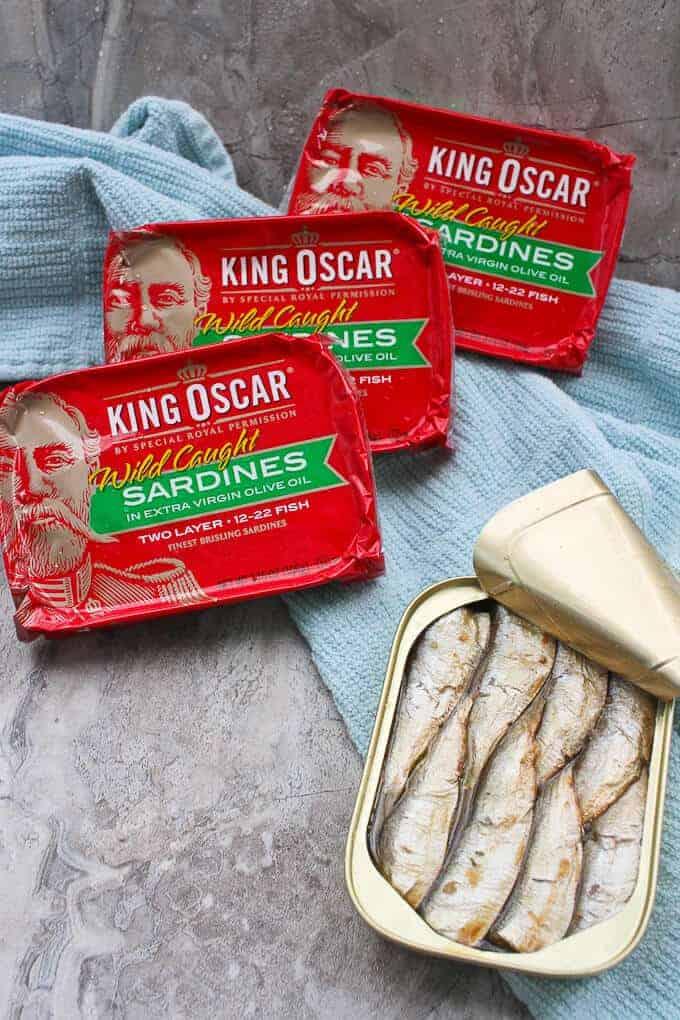 King Oscar Brisling Sardines