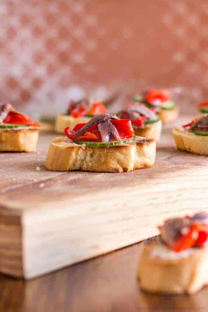 Anchovy Hors d'Oeuvres - from Happy Foods Tube