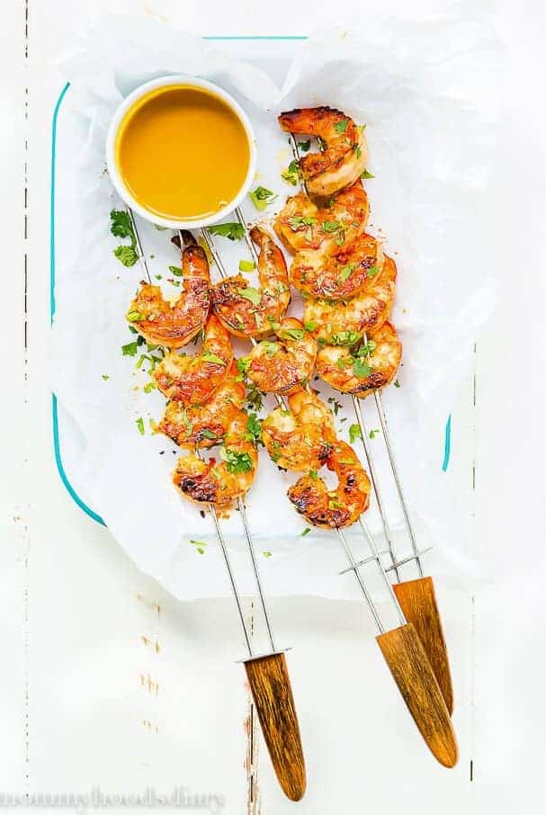Miso Grilled Shrimp - from Mommy's Home Cooking