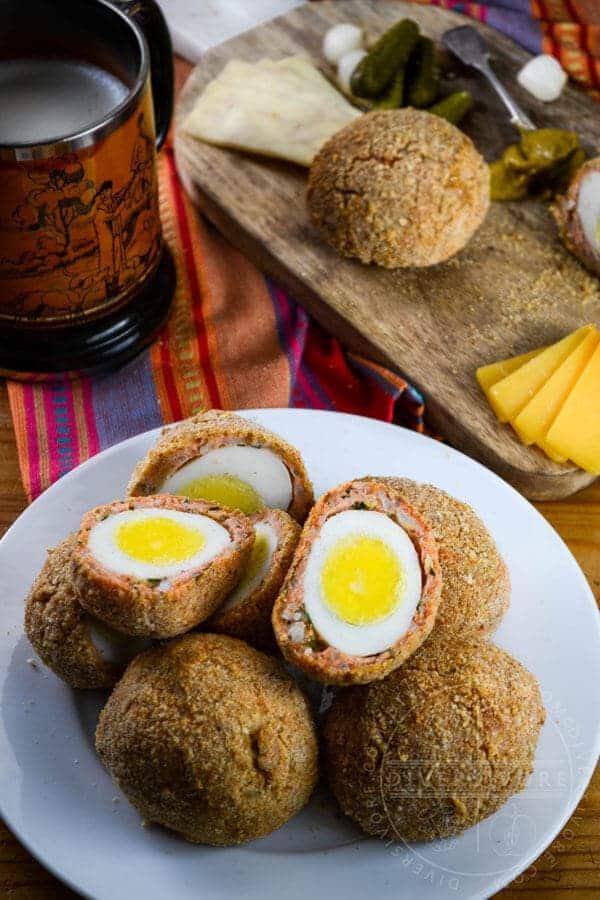 West Coast Scotch Eggs - from Diversivore