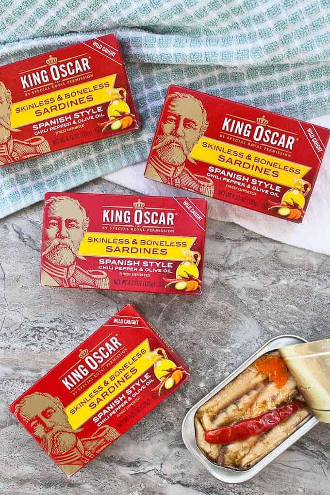 King Oscar Spanish-Style Sardines