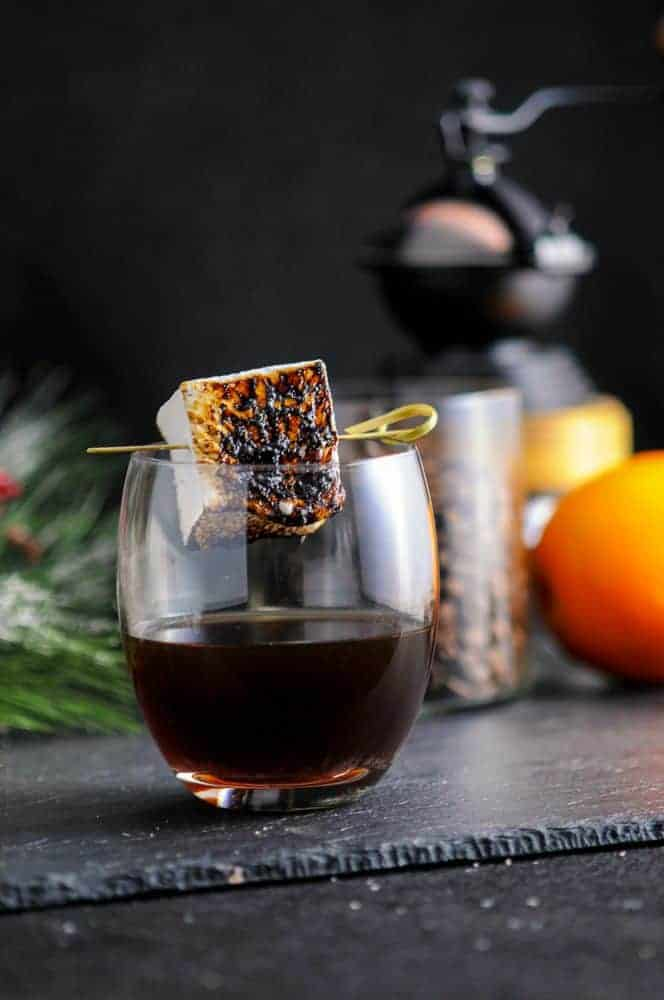 The Roast + Toast, A Bourbon + Coffee Cocktail - from Gastronom